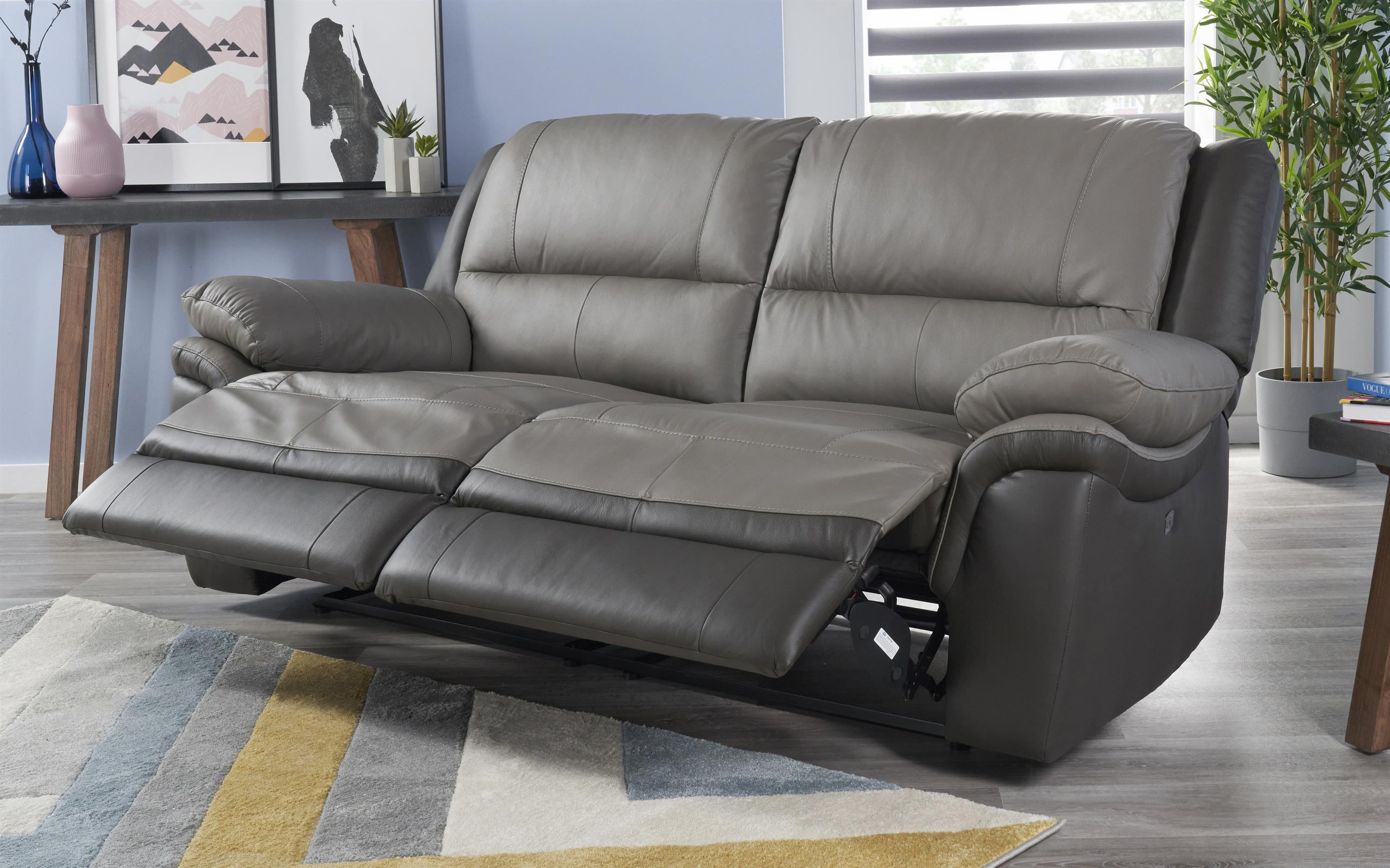 Pluto 3 Seater Power Recliner Sofa
