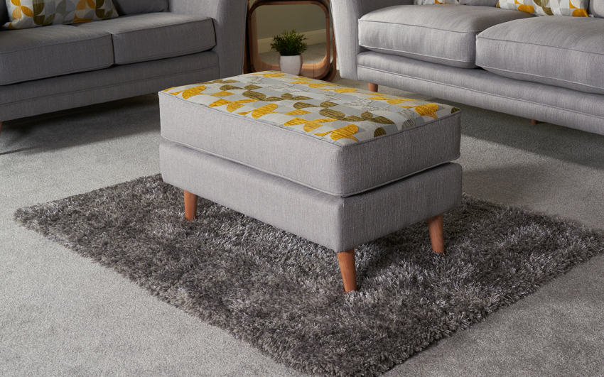 Zeus Chaise Footstool