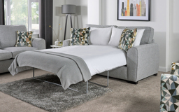Inspire Ezra 3 Seater Pocket Sprung Sofa Bed Standard Back, , small