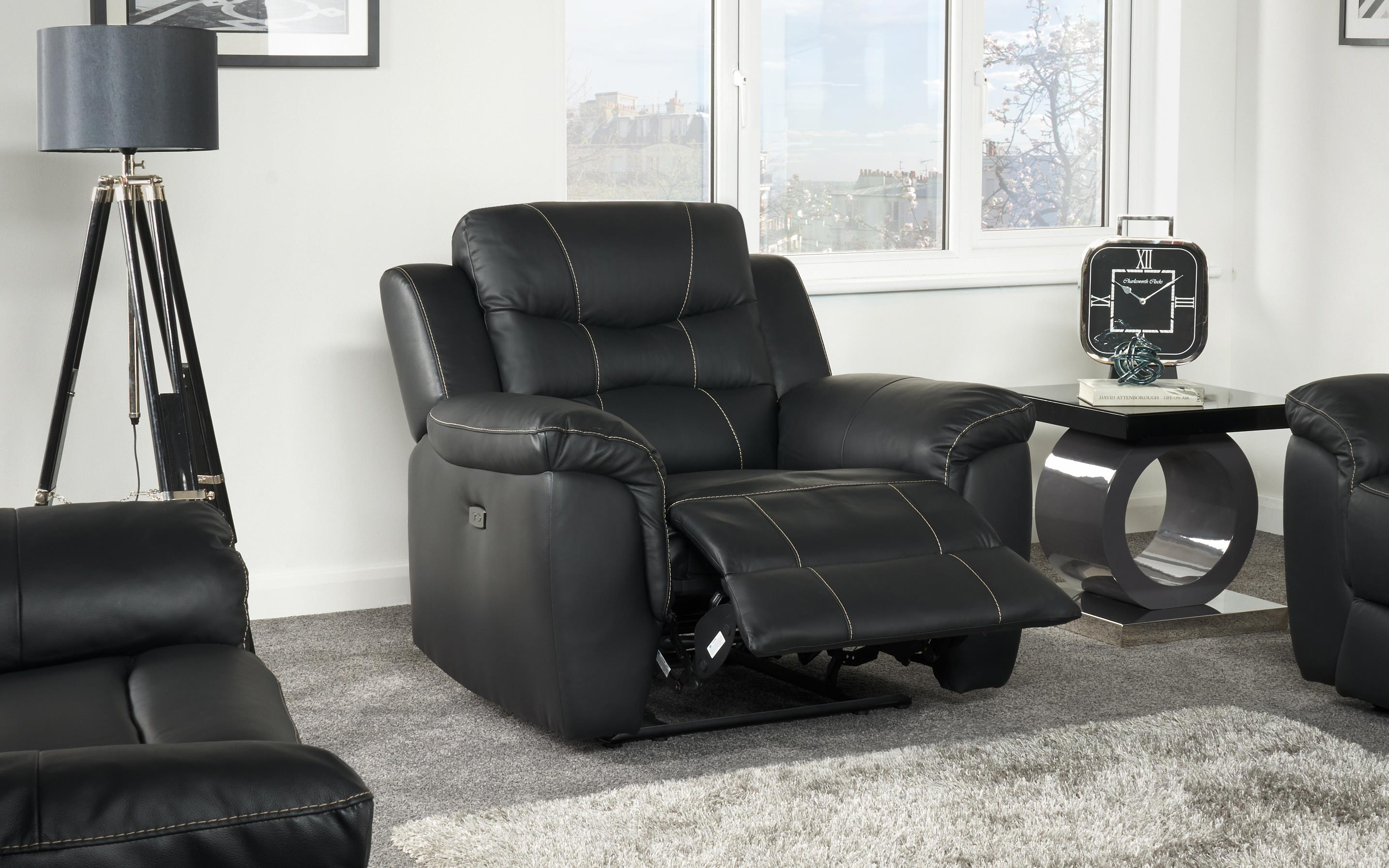 Axel Power Recliner Chair, , large