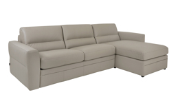 Sisi Italia Amalfi 3 Seater Sofa Bed With RHF Storage Chaise, , small