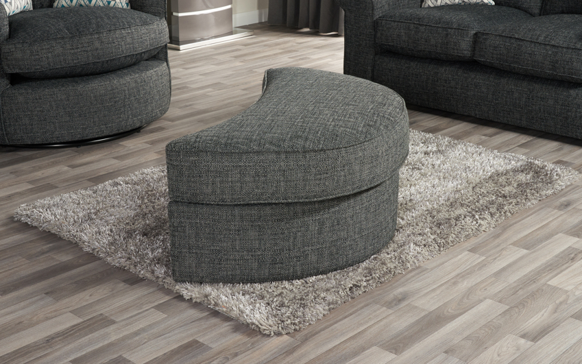 Quinn Large Twister Footstool, , large