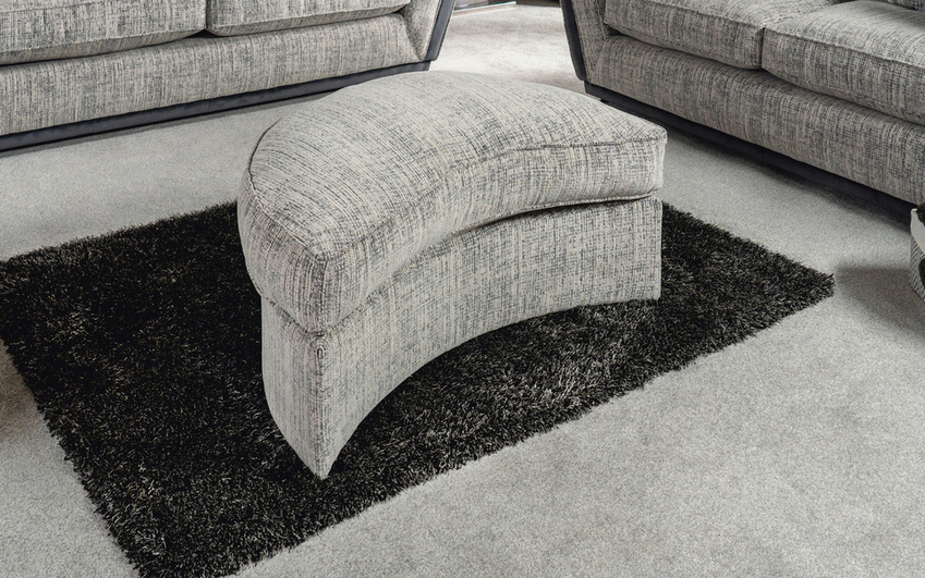 Antwerp Large Twister Footstool