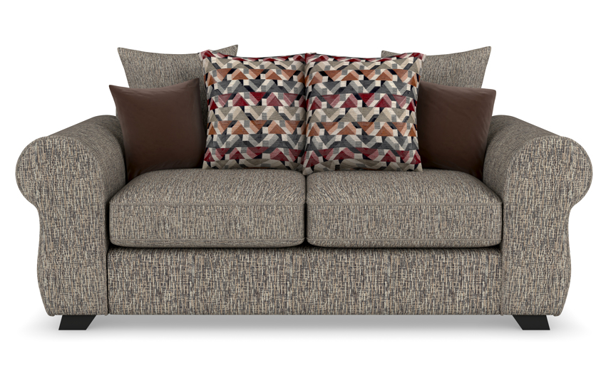 Zachary 3 Seater Sofa Scatter Back