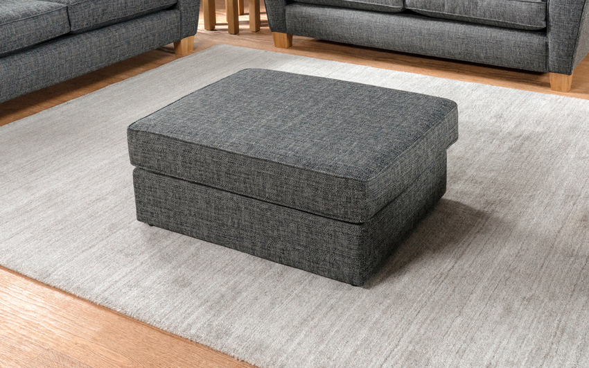 Harry Plain Top Banquette Footstool