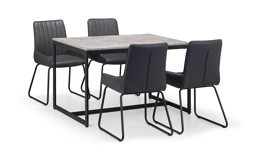 Warwick Dining Table & 4 Chairs, , small