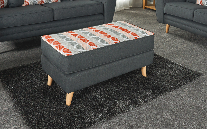 Troy Chaise Footstool