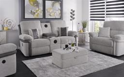 La-Z-Boy Nevada 3 Seater Manual Recliner Sofa With Sound, , small