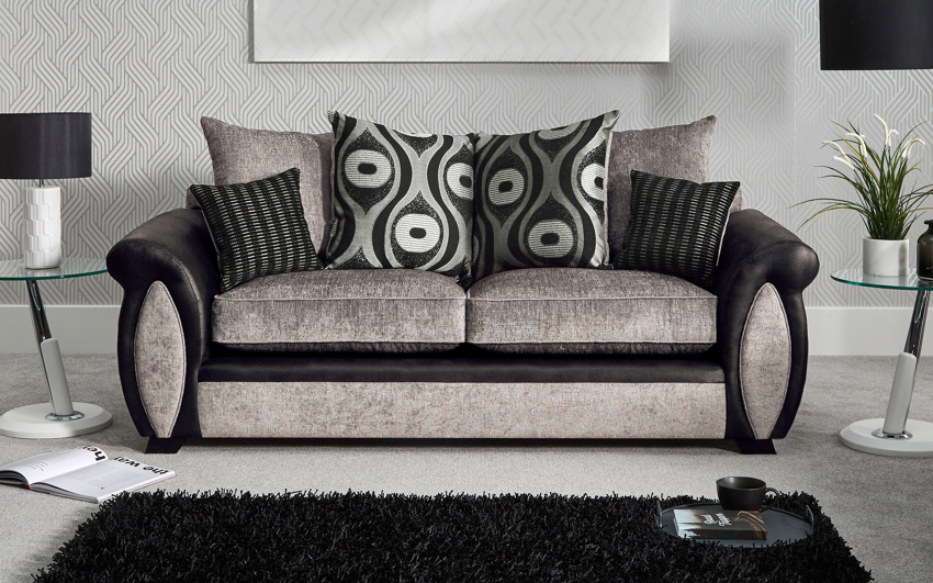 Maya 3 Seater Sofa Scatter Back