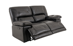 Maximus 2 Seater Manual Recliner Sofa, , small