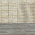 Patchwork Natural Scatter With Limed Wood Feet
