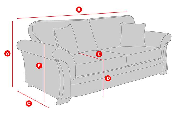 Sofa dimensions